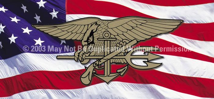 ClearVue Graphics Window Graphic - 30x65 U.S. Navy Seals MIL-016-30-65