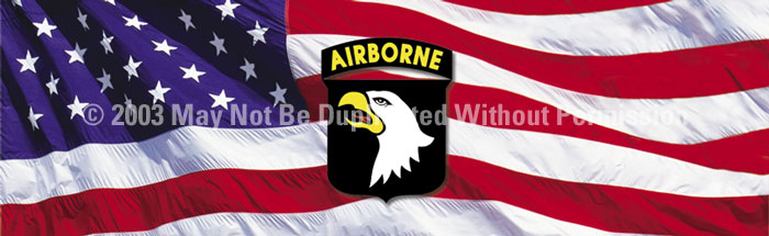 ClearVue Graphics Window Graphic - 16x54 101st Airborne MIL-025-16-54