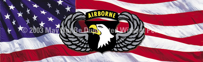 ClearVue Graphics Window Graphic - 16x54 101st Airborne Wings MIL-026-16-54