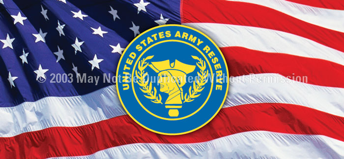 ClearVue Graphics Window Graphic - 30x65 U.S. Army Reserve MIL-034-30-65