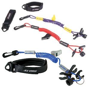 Kwik Tek UL-3 Ultimate Lanyard Blue-Silver For PWCS