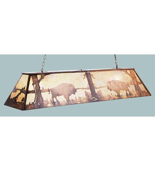 Meyda Tiffany 50019 48 Inch L Buffalo Oblong Pendant