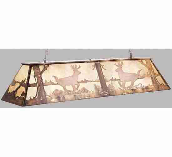 Meyda Tiffany 50123 72 Inch L Deer Oblong Pendant