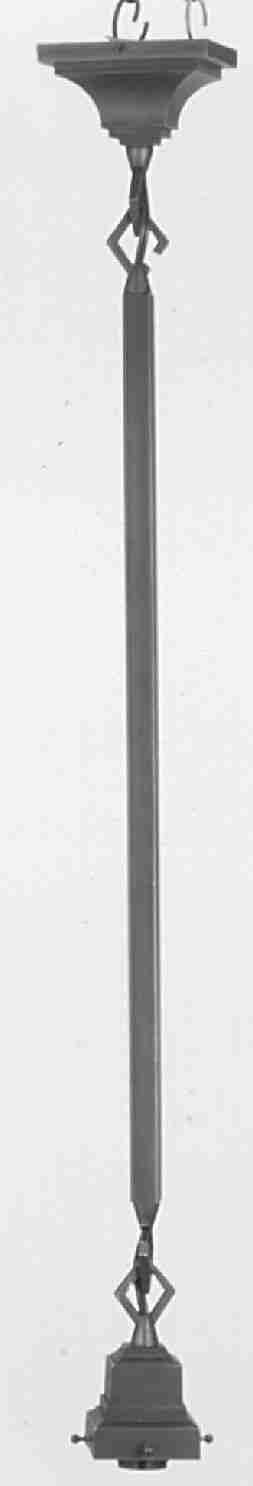 click for Full Info on this Meyda Tiffany 28132 42 Inch H 1 Lt Bungalow Pendant Fixture