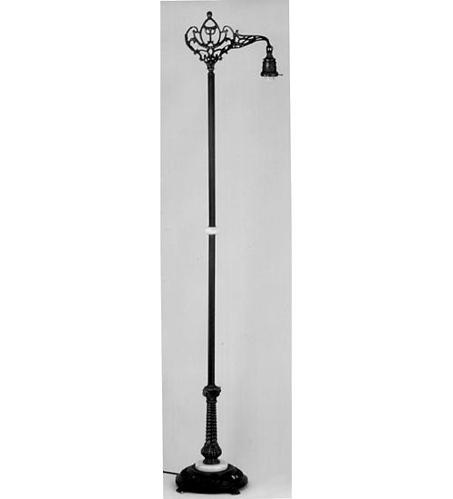 Meyda Tiffany 22819 67.5 Inch Footed Onyx Bridge-Arm 2.25 Inch Fitter