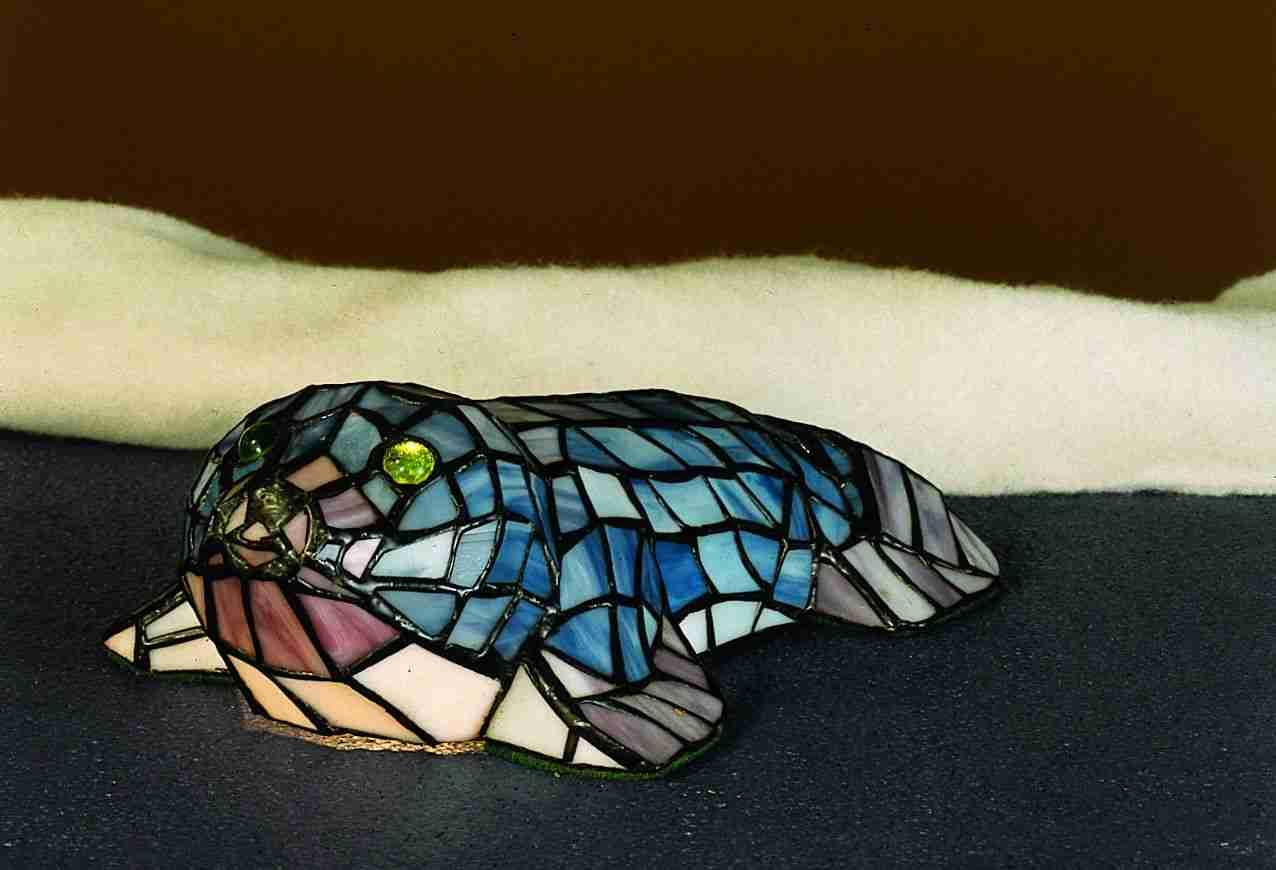 Meyda Tiffany 16445 Mini Tiffany Seal Gray