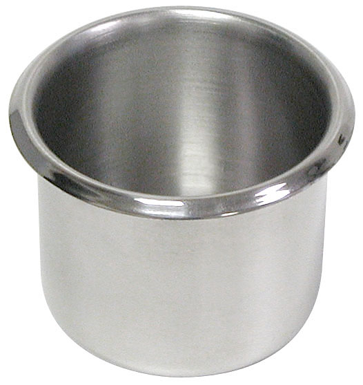 Poker 10-CupSS 2-3/4 Diameter Cup Holder - Stainless Steel POKER218