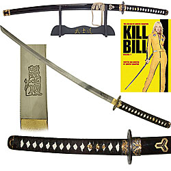 KILL BILL Katana Sword with Display Stand POKER2277