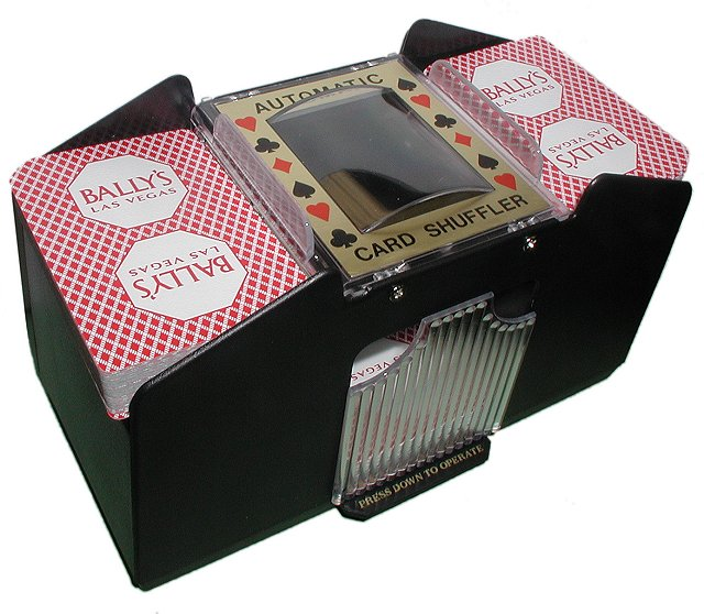 Poker 10-2709LL 4 Deck Automatic Card Shuffler POKER365
