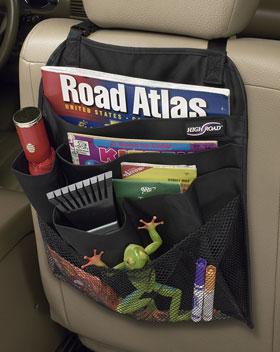 Talus Highroad BP-BLACKBLK BackPockets seat back organizer