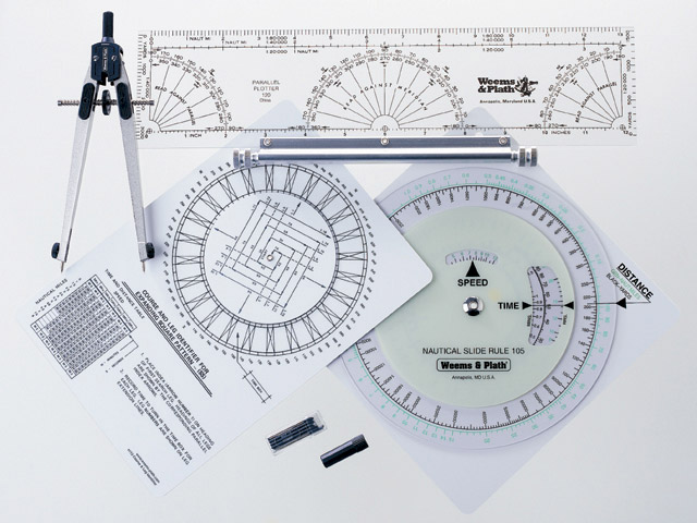 Weems & Plath 100 Marine Navigation Coast Guard Navigation Tool Kit