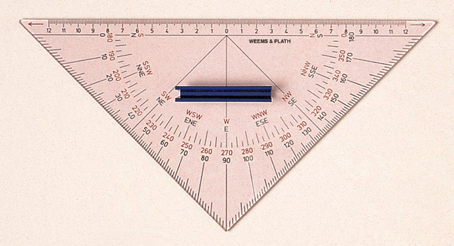 Weems & Plath 101 Protractor Triangle with Handle
