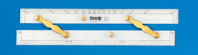 Weems & Plath 142 15 Inch Deluxe Parallel Ruler with Brass Arms