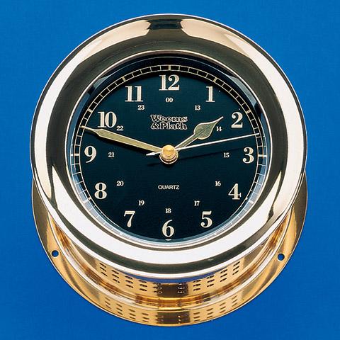 Weems & Plath 200501 Atlantis Premiere Quartz Clock Black