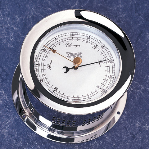 Weems & Plath 220700 Chrome Plated Atlantis Barometer