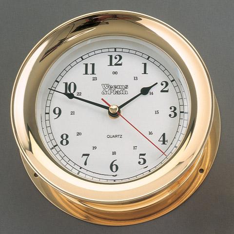 Weems & Plath 290500 Admiral Quartz Clock