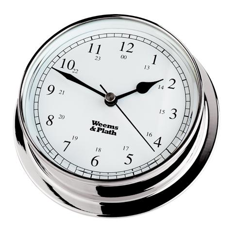 Weems & Plath 320500 Chrome Endurance 85 Clock