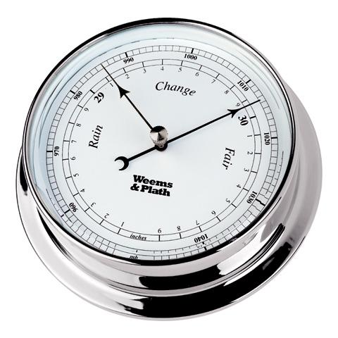 Weems & Plath 320700 Chrome Endurance 85 Barometer