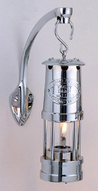 Weems & Plath 400 Chrome Mini Oil Yacht Lamp