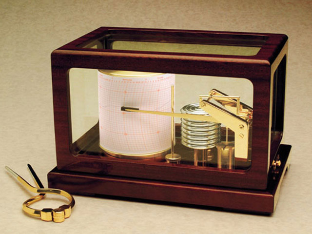 Weems & Plath 410-D Dampened Deluxe Barograph