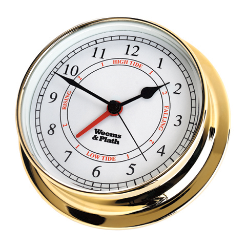 Weems & Plath 530300 Endurance 125 Time & Tide Clock