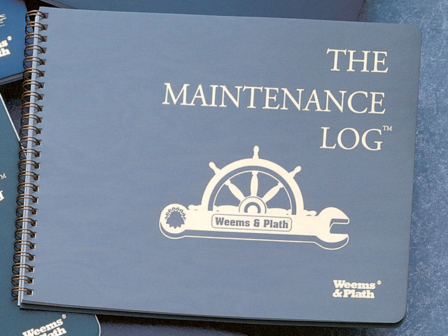 Weems & Plath 804 11-1/2 x 8-5/8 The Maintenance Log