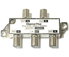 Channel Plus 2534 Bi-Directional Splitters / Combiners