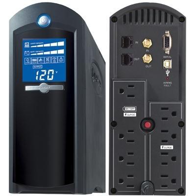 Cyberpower 1500VA UPS w AVR & LCD CP1500AVRLCD
