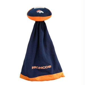 Sportswear - Denver Broncos Plush NFL Football With Attached Security Blanket By Coed Sportswear