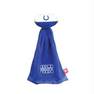 Football Sportswear - Indianapolis Colts Plush NFL Football With Attached Security Blanket By Coed Sportswear