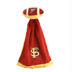 Football Sportswear - Florida State Seminoles Plush NCAA Football With Attached Security Blanket By Coed Sportswear
