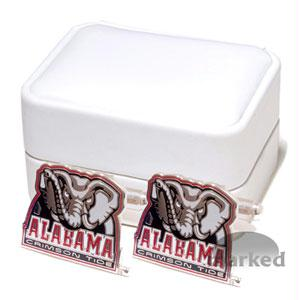 Crimson Tide Cufflinks - Alabama Crimson Tide NCAA Logo'd Executive Cufflinks WgiJewelry Box By Cuff Links
