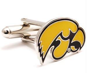 Ncaa Cufflinks - Iowa Hawkeyes NCAA Logo'd Executive Cufflinks WgiJewelry Box By Cuff Links