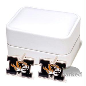 Ncaa Cufflinks - Missouri Tigers NCAA Logo'd Executive Cufflinks WgiJewelry Box By Cuff Links