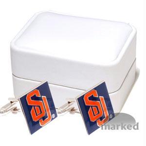 Ncaa Cufflinks - Syracuse Orangemen NCAA Logo'd Executive Cufflinks WgiJewelry Box By Cuff Links