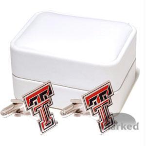 Ncaa Cufflinks - Texas Tech Red Raiders NCAA Logo'd Executive Cufflinks WgiJewelry Box By Cuff Links