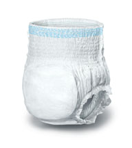 Disposable Underwear - MEDLINE INDUSTRIES MSC33505 Protection Plus Disposable Underwear - Large 18 Bg 72 Cs - 1 Case