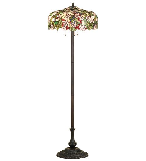 Meyda Tiffany 66466 63 Inch H Cherry Blossom Floor Lamp