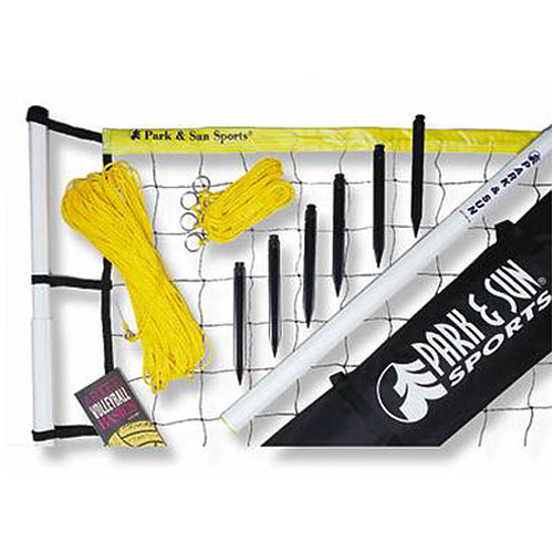Park and Sun PIII Player III Volleyball Set - Yellow