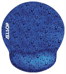 ALLSOP 28822 Raindrop Blue Mouse Pad Pro 28822