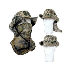 Bucket Hats - Capco 7298 Gameguard (3In1) Facemask Bucket Hat