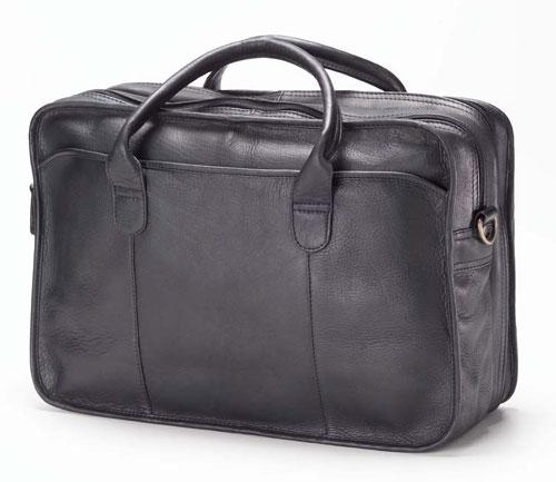 Legal Briefcases - Clava 1158 Legal Briefcase - Vachetta Black