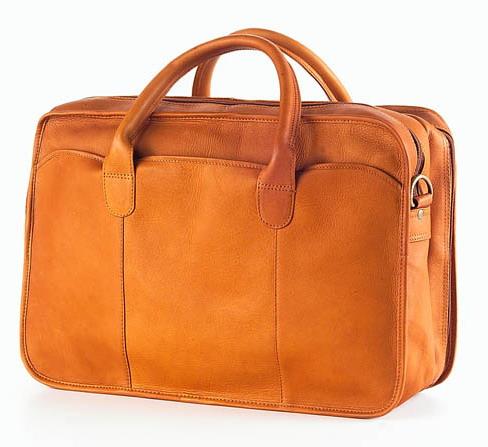 Legal Briefcases - Clava 1158 Legal Briefcase - Vachetta Tan