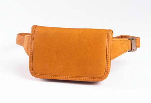 Clava 3002 Wallet Waist Pack - Vachetta Tan