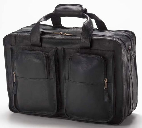 Clava 7553 Flight Bag - Vachetta Black