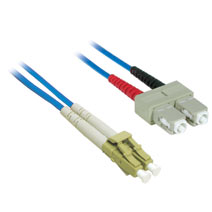 Cables To Go 37229 5m LC-SC DUPLEX 62.5-125 MULTIMODE FIBER PATCH CABLE - BLUE CTG410