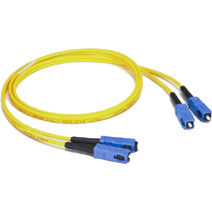 Cables To Go 12505 3m SC-SC DUPLEX 9-125 SINGLEMODE FIBER PATCH CABLE