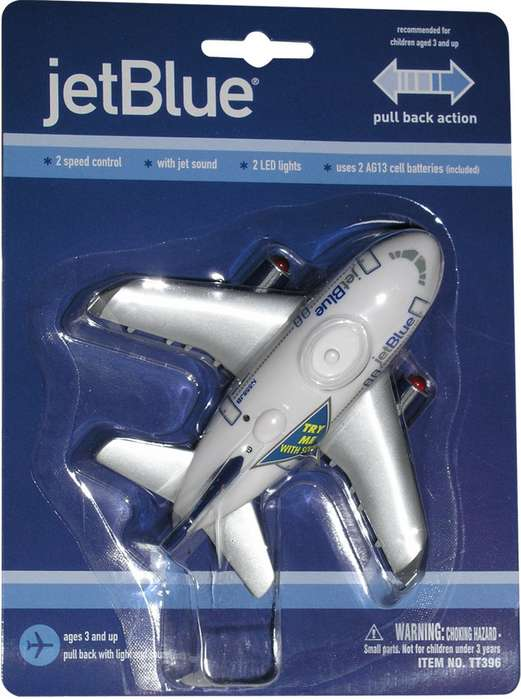 Daron Worldwide Trading TT396 Jetblue Airways Pullback with Light and Sound