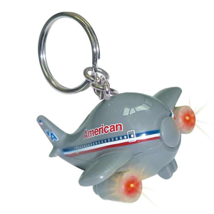 Daron Worldwide Trading TT85488 American Airlines Keychain with Light and Sound