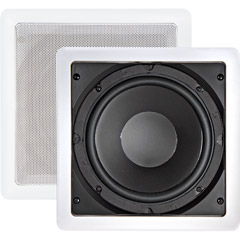 Home Theater - AudioSource AS-10SW 10 Inch 150-Watt In-Wall Subwoofer